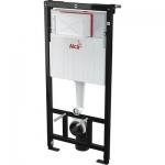 Alcaplast AM101 1120 mm Sádromodul beépíthető WC tartály szerelőkerettel fali WC részére