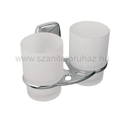 Bisk OREGON dupla pohár és tartó