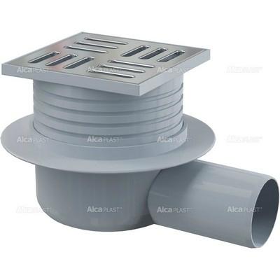 Alcaplast APV26 oldalsó kifolyású rozsdamentes padlólefolyó