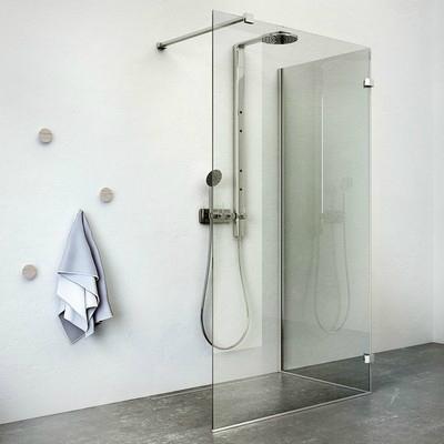 Roltechnik Walk In F 120x80 zuhanykabin brillant profil transparent betét