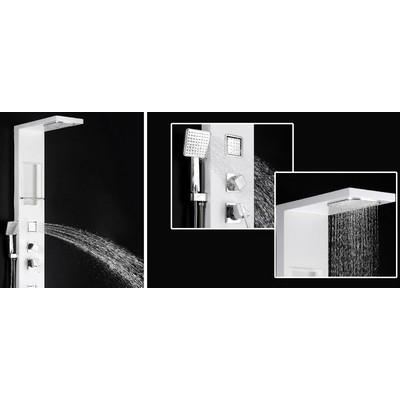 Wellis Modica zuhanypanel fehér
