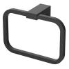 Wellis Mamba törölköző tartó gyűrű fekete WE00116