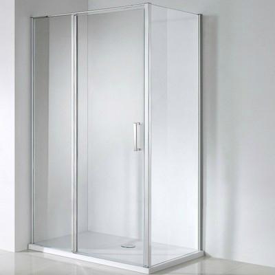 Wellis Triton 120x80 téglalap zuhanykabin alumínium profil átlátszó üveg WC00326