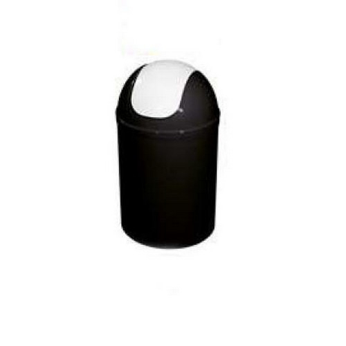 Bisk 5l billenős szemetes fekete fehér műanyag 07545