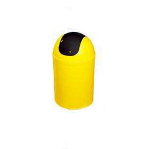 Bisk 5l billenős szemetes sárga fekete műanyag 07547