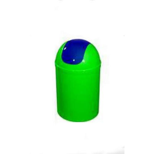 Bisk 5l billenős szemetes zöld kék műanyag 07549