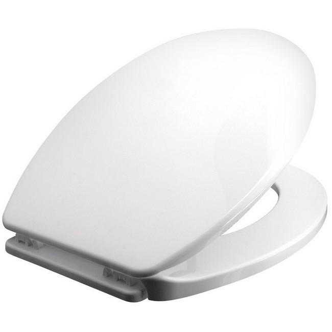 Bisk Iris WC ülőke fehér PP műanyag Easy 80902