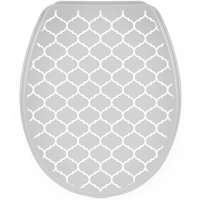 Bisk Iris WC ülőke keleti mintás PP műanyag Easy 07989