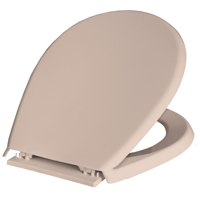Bisk Lilia WC ülőke bézs PP műanyag Easy 80312