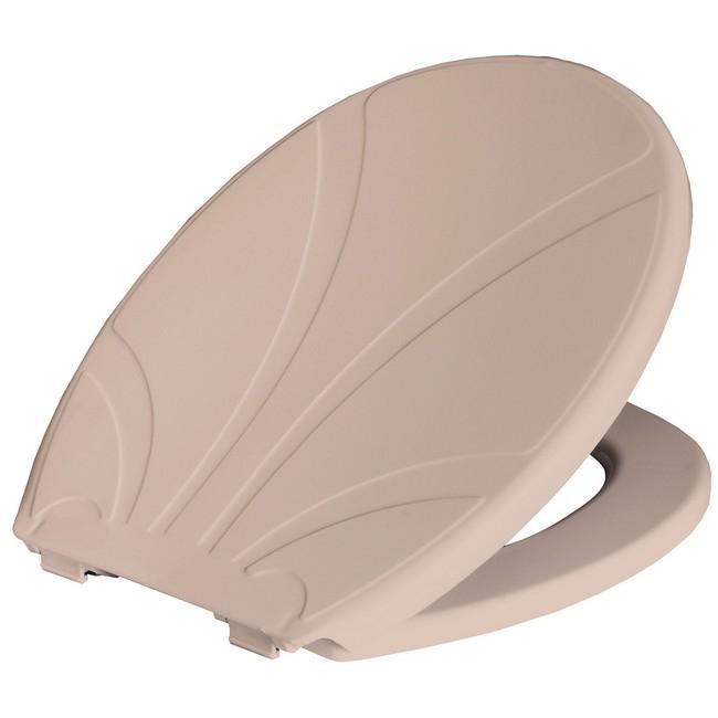 Bisk Lotos WC ülőke bézs PP műanyag Easy 80112