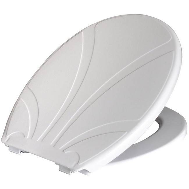 Bisk Lotos WC ülőke fehér PP műanyag Easy
