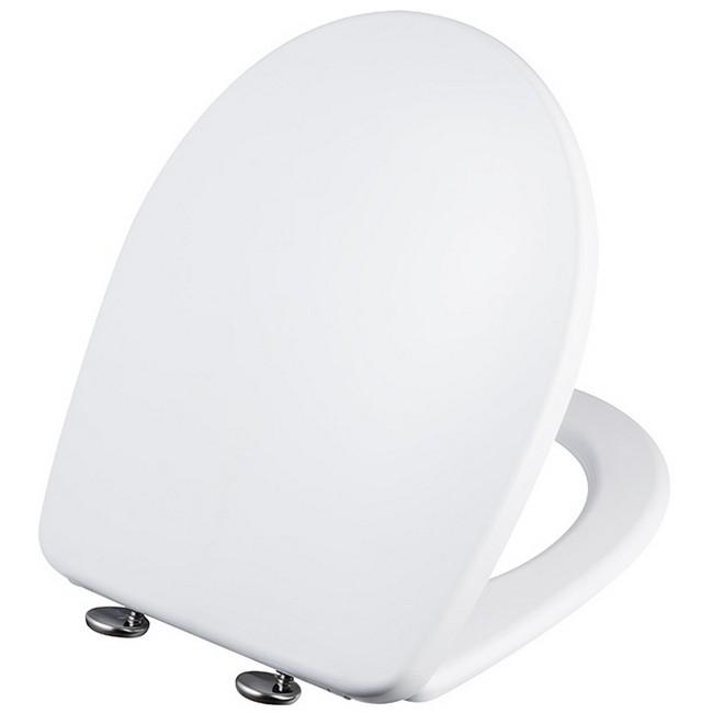 Bisk Vista WC ülőke fehér műanyag Softclose 06975