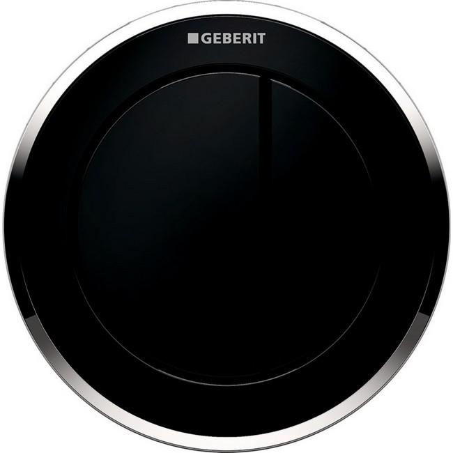 Geberit 10 fali pneumatikus WC vezérlés fekete GE-116.055.KM.1