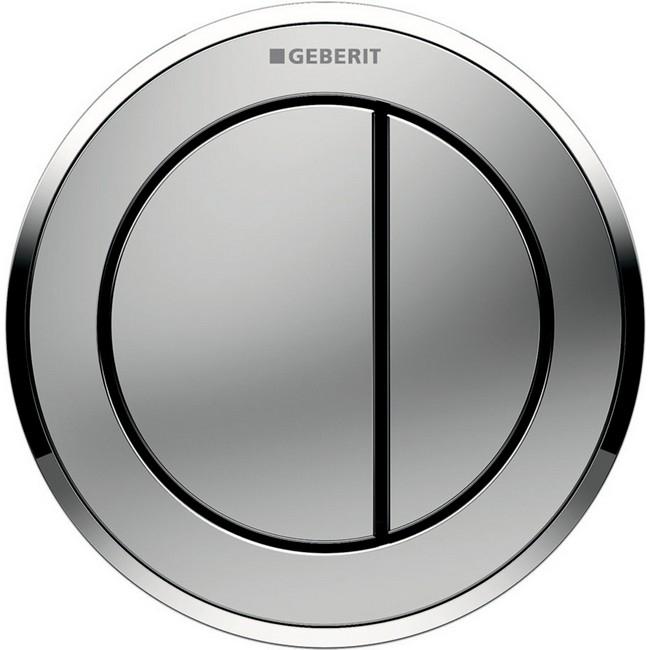 Geberit 10 fali pneumatikus WC vezérlés matt króm GE-116.055.KN.1