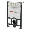 Alcaplast  A101 beépíthető WC tartály szerelőkerettel 850 mm