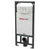 Alcaplast A101 beépíthető WC tartály szerelőkerettel 1200 mm