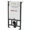 Alcaplast A101 beépíthető WC tatály szerelőkerettel 1000 mm