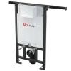 Alcaplast A102 beépíthető WC tartály panellakásokba 1200mm