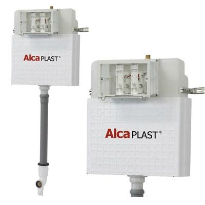 Alcaplast A112 beépíthető WC tartály hagyományos földön álló WC-hez