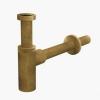 Alcaplast A400ANTIC design mosdó szifon bronz 5/4 col