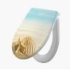 Alcaplast A604 Duroplast WC ülőke Softclose shell levehető