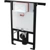 Alcaplast AM102 850 mm szerelőkeretes WC tartály panel lakásba