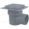 Alcaplast APV10 műanyag oldalsó kifolyású padlólefolyó