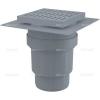 Alcaplast APV11 műanyag alsó kifolyású padlólefolyó