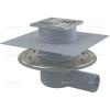 Alcaplast APV1324 oldalsó kifolyású rozsdamentes padlólefolyó