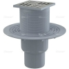 Alcaplast APV201 alsó kifolyású rozsdamentes padlólefolyó