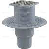 Alcaplast APV202 alsó kifolyású rozsdamentes padlólefolyó