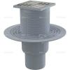 Alcaplast APV2311alsó kifolyású rozsdamentes padlólefolyó