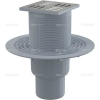 Alcaplast APV2321 alsó kifolyású rozsdamentes padlólefolyó