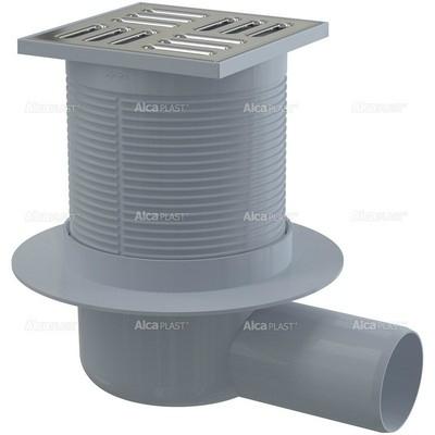Alcaplast APV31oldalsó kifolyású padlólefolyó rozsdamentes padlólefolyó