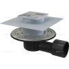 Alcaplast APV3344 oldalsó kifolyású rozsdamentes padlólefolyó