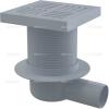 Alcaplast APV5211műanyag oldalsó kifolyású padlólefolyó