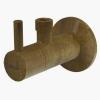 Alcaplast ARV001-ANTIC sarokszelep bronz 3/8 col