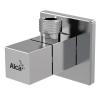 Alcaplast ARV002 szögletes design sarokszelep 1/2-3/8 szűrővel 2 db