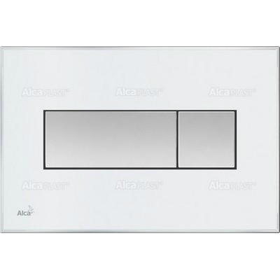 52dfd81125 Alcaplast M1370 nyomólap fehér króm M1370