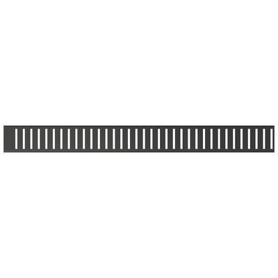 Alcaplast Pure Black perforált rács fekete 650 mm PURE-650BLACK