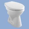 Alföldi Bázis mélyöblítésű hátsó kifolyású WC csésze fehér