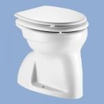 Alföldi Bázis laposöblítésű alsó kifolyású gyerek WC csésze