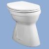 Alföldi Bázis laposöblítésű alsó kifolyású WC csésze fehér