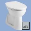 Alföldi Bázis mélyöblítésű alsó kifolyású WC csésze szürke