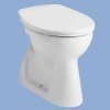 Alföldi Bázis mélyöblítésű alsó kifolyású WC csésze EASYPLUS bevonattal