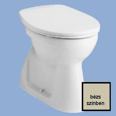 Alföldi Bázis mélyöblítésű alsó kifolyású WC csésze bézs