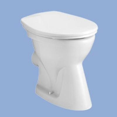 Alföldi Bázis mélyöblítésű hátsó kifolyású WC csésze EASYPLUS bevonattal
