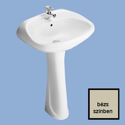 Alföldi Bázis mosdó 57 cm 1 csaplyukkal bézs