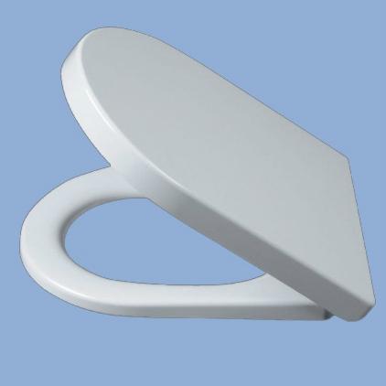 Alföldi LINER Duroplast WC ülőke fém zsanérral