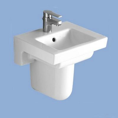 Alföldi LINER mosdó 45 1csaplyukkal EASYPLUS felülettel fehér
